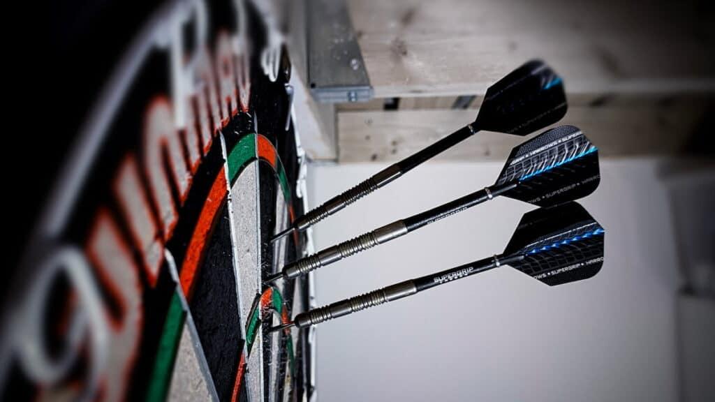 dart shaft lengte te lang