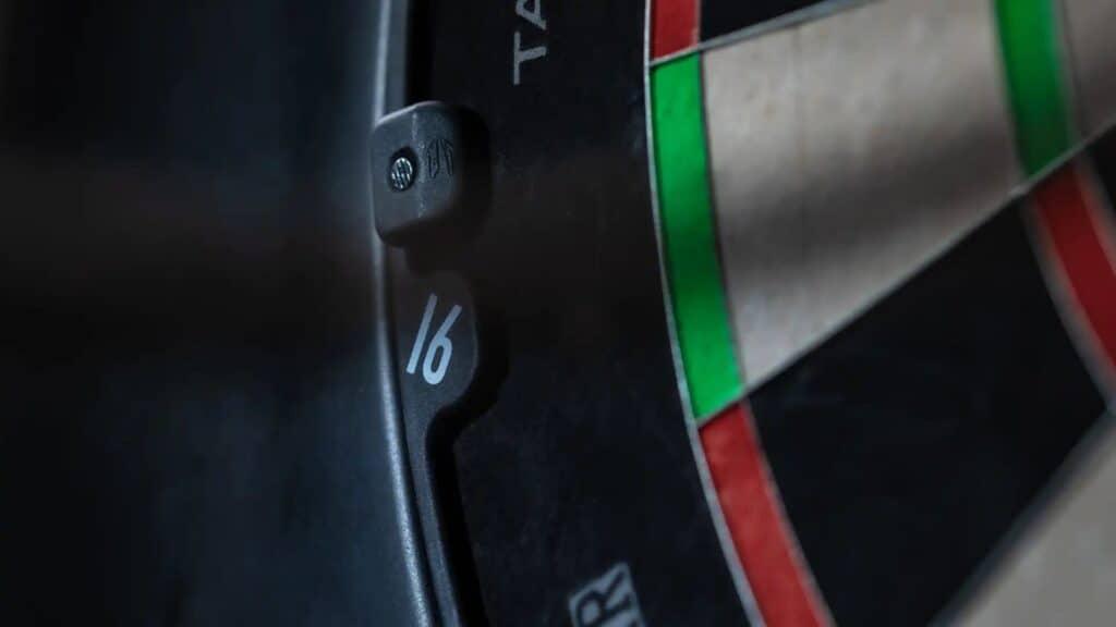 cijferring van Aspar dartbord